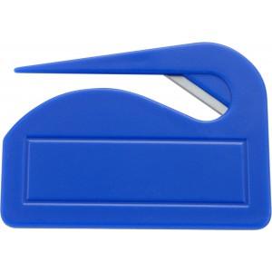 Műanyag levélbontó, kék